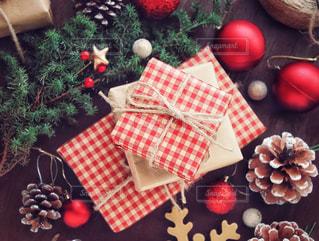 クリスマスプレゼントの写真・画像素材[1604920]