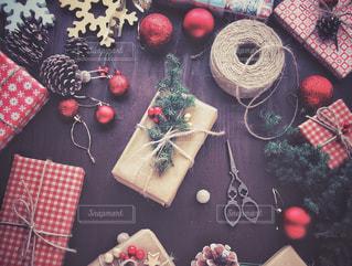 クリスマスプレゼントの写真・画像素材[1604923]