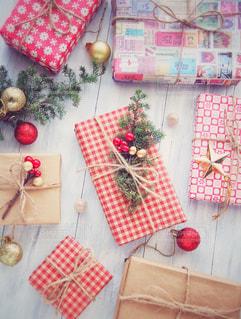 クリスマスプレゼントの写真・画像素材[1604925]