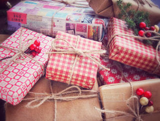 クリスマスプレゼントの写真・画像素材[1604932]