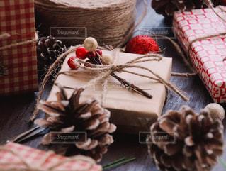 クリスマスプレゼントの写真・画像素材[1604937]