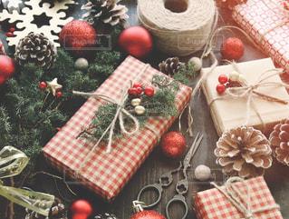 クリスマスプレゼントの写真・画像素材[1604941]