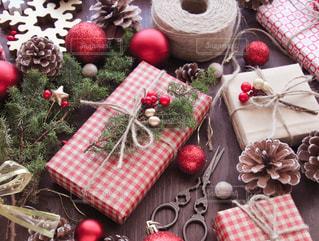 クリスマスプレゼントの写真・画像素材[1604942]