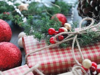 クリスマスプレゼントの写真・画像素材[1604946]