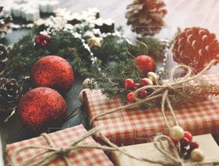 クリスマスプレゼントの写真・画像素材[1604947]