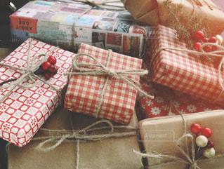 クリスマスプレゼントの写真・画像素材[1604949]