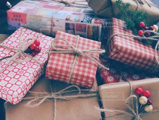 クリスマスプレゼントの写真・画像素材[1604950]