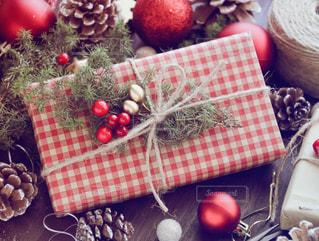 クリスマスプレゼントの写真・画像素材[1604953]