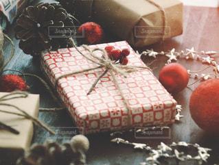 クリスマスプレゼントの写真・画像素材[1604954]