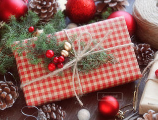 クリスマスプレゼントの写真・画像素材[1604956]