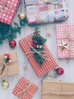 クリスマスプレゼントの写真・画像素材[1604957]