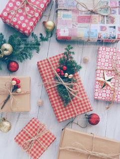 クリスマスプレゼントの写真・画像素材[1604959]