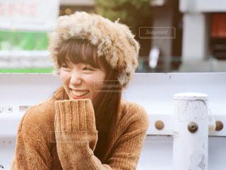 微笑む女性の写真・画像素材[1641992]