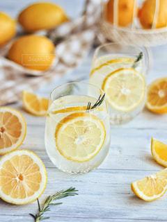 レモンソーダの写真・画像素材[3155146]