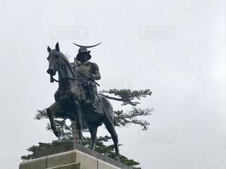 伊達政宗騎馬像の写真・画像素材[1257571]