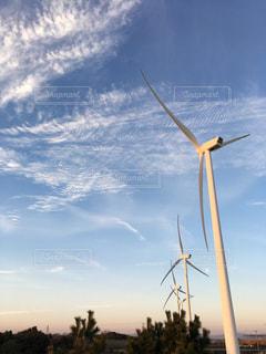 風車の写真・画像素材[303215]