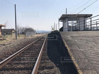 線路の写真・画像素材[386195]
