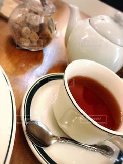 クローズ アップ食べ物の皿とコーヒー カップの写真・画像素材[1020976]