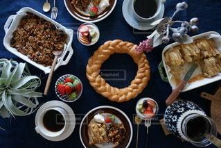 食卓の写真・画像素材[8342]
