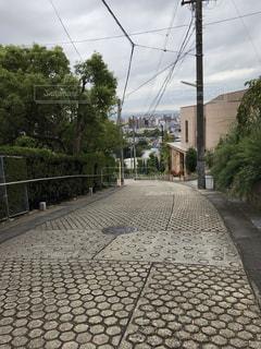 坂道の写真・画像素材[2472709]