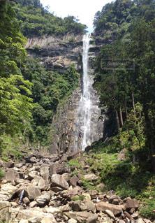 滝の写真・画像素材[510995]