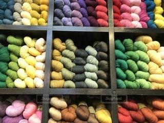 毛糸の写真・画像素材[1584621]