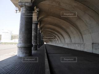 防波堤ドームの景観の写真・画像素材[1413882]