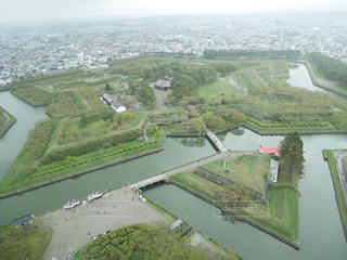 函館市の展望の写真・画像素材[1414068]