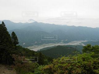 身延山山頂からの眺めの写真・画像素材[1414602]