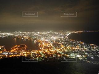 函館山山頂からの夜景の写真・画像素材[1414630]