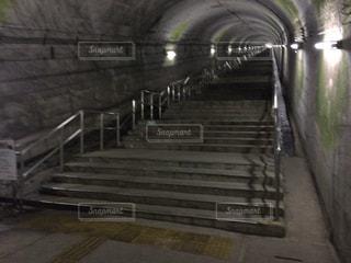 日本一の地下駅・JR土合駅の写真・画像素材[1414683]