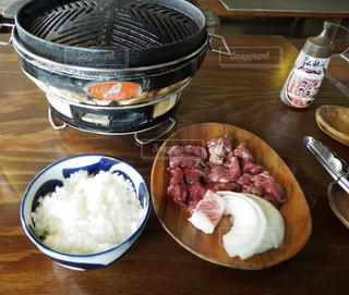 帯広で食べたジンギスカンの写真・画像素材[1585441]
