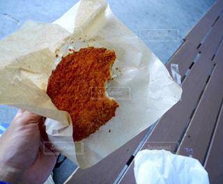 いわきで食べたカジキメンチカツの写真・画像素材[1585463]