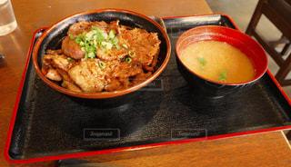 埼玉の味噌豚丼の写真・画像素材[1585474]