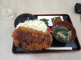 甲州豚のカツ丼の写真・画像素材[1585482]