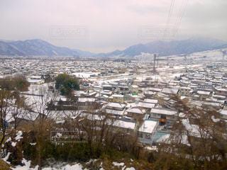 冬の湯田中温泉の写真・画像素材[1616529]