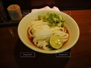 うどん県で食べたうどんの写真・画像素材[2152653]