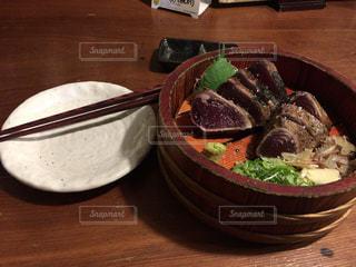 高知で食べたかつおのタタキの写真・画像素材[2152657]