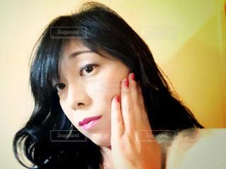 お肌が気になるの写真・画像素材[1455744]