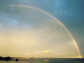 #空#sora#虹の写真・画像素材[308275]