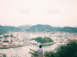 尾道の街を見下ろすの写真・画像素材[1064155]