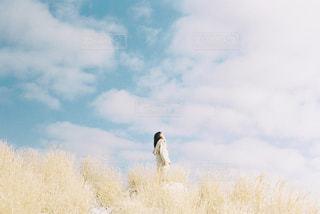 阿蘇の雪景色の写真・画像素材[1792046]