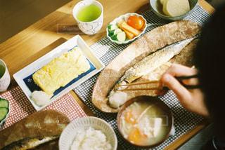 朝ごはんの風景の写真・画像素材[3014499]