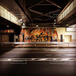 近くに鉄道駅のの写真・画像素材[720517]