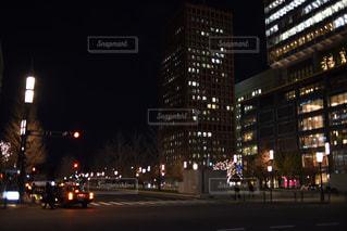 夜空と夜景 - No.314352