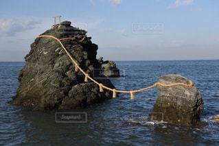 夫婦岩の写真・画像素材[864772]