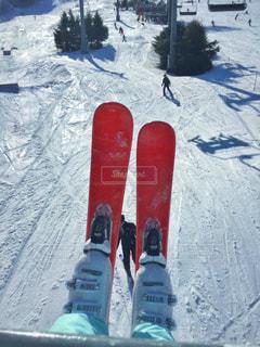 スキーの写真・画像素材[1047810]