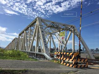 淀川橋梁の写真・画像素材[1434502]