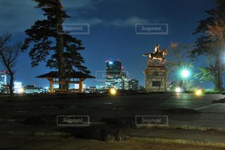 夜景の写真・画像素材[314709]