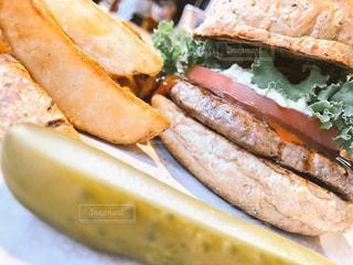 ハンバーガーの写真・画像素材[314899]